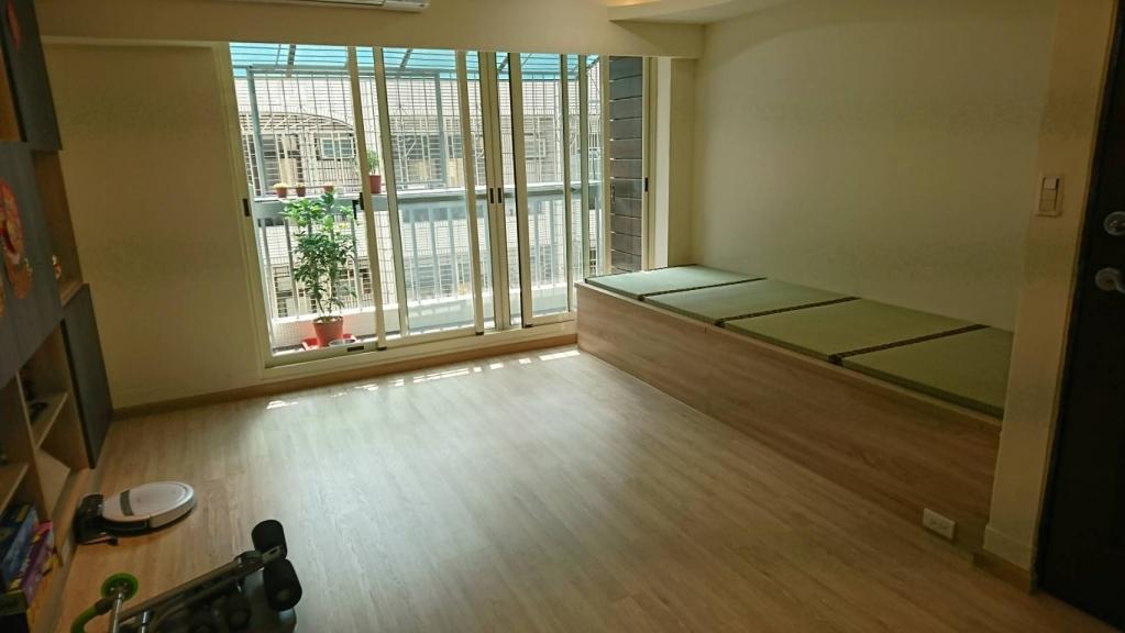 台中舊屋翻新(老公寓變身溫馨小屋)二