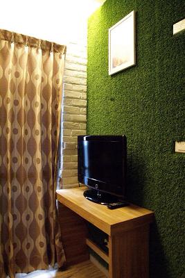套房裝潢-綠套房