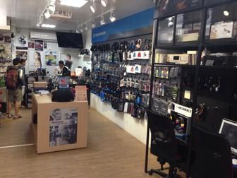 台中空間設計-知名品牌耳機專賣店門市裝修案