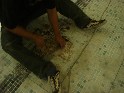 SPA池泥作及防水工程
