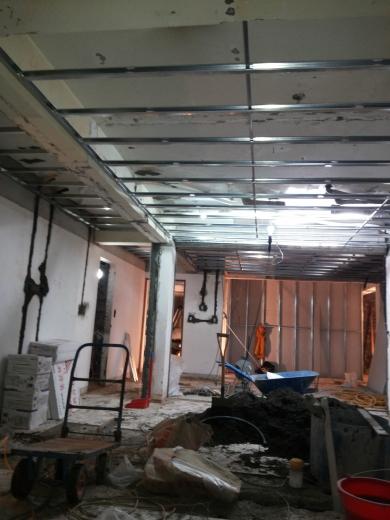 輕隔間與天花板工程