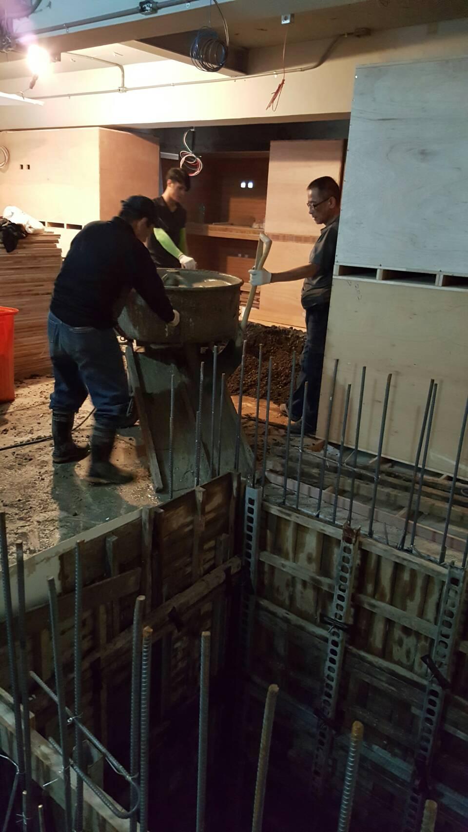 公寓增設電梯間土木工程(二)