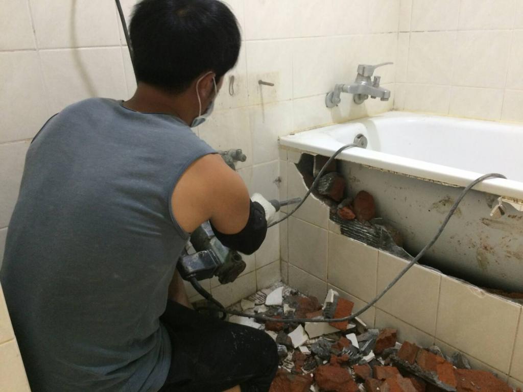 浴室廚房整修工程(一)