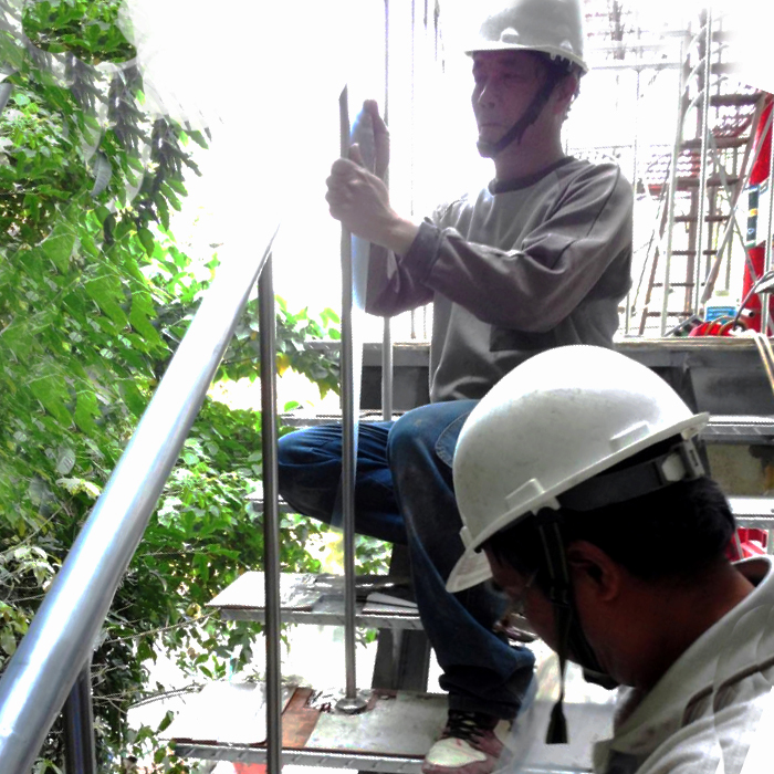 不銹鋼手扶梯