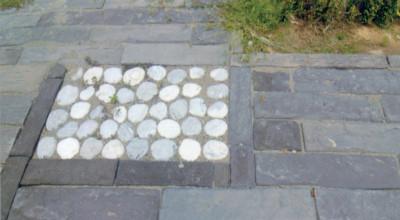 枕木&木紋 仿石地磚
