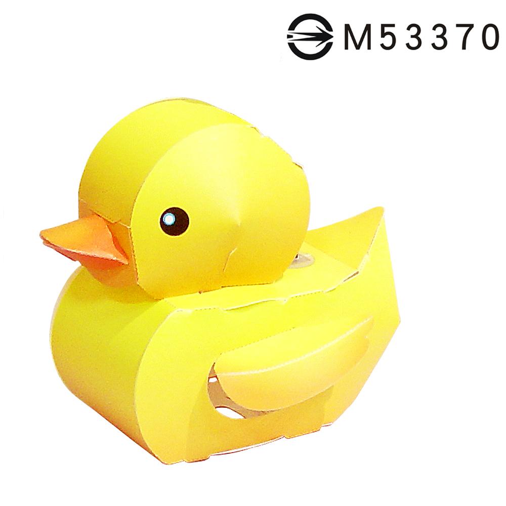 黃色小鴨-DIY摺紙