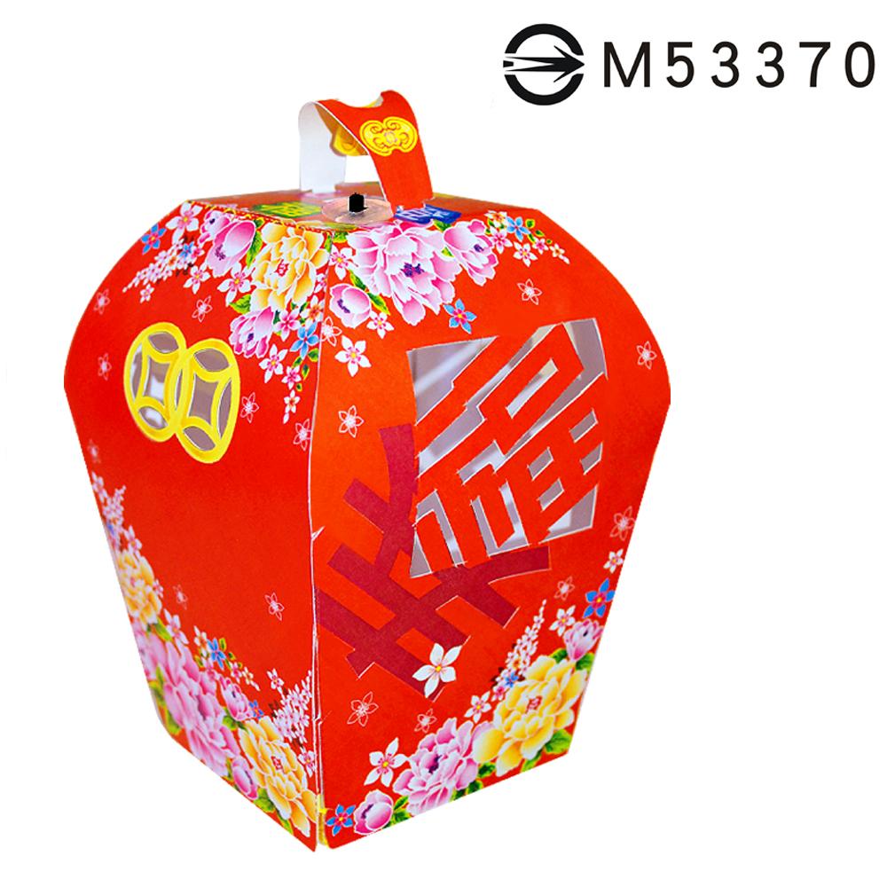 花布祈福天燈-DIY