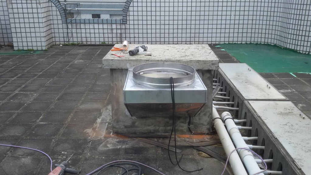 豐原皇家社區施工中照片