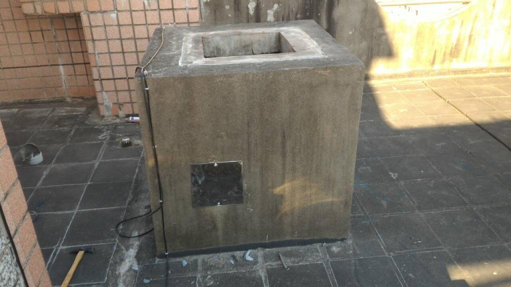 逢甲公園廣場B區施工中照片