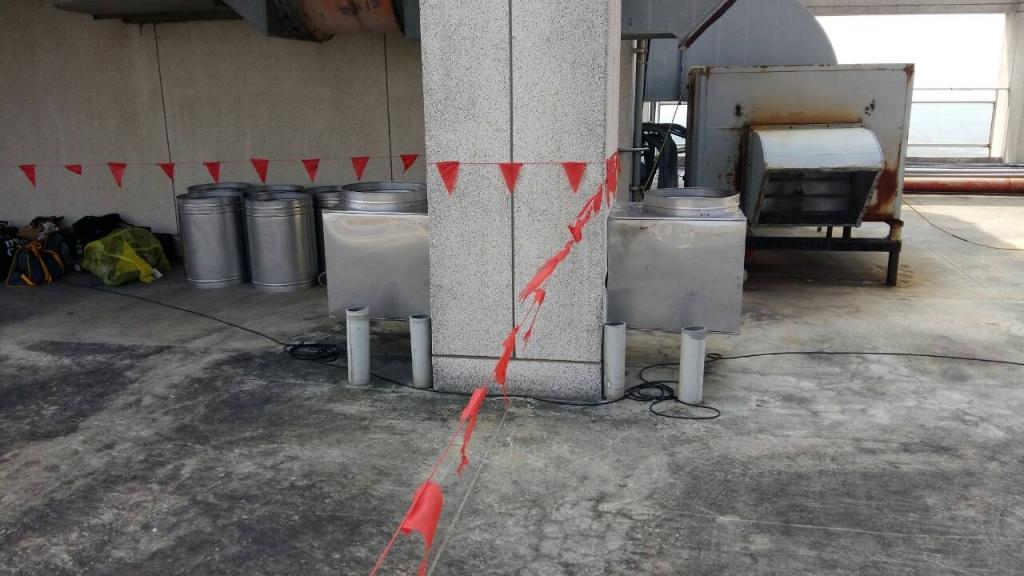 清新溫泉會館施工中照片
