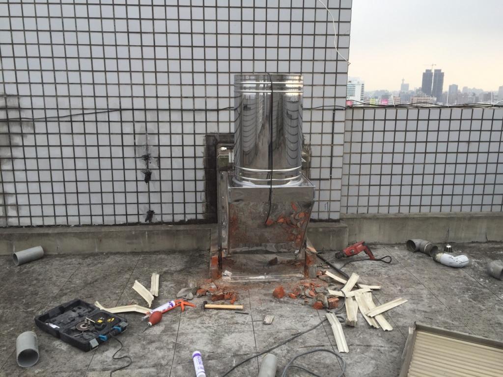 陽光翡翠社區施工中照片