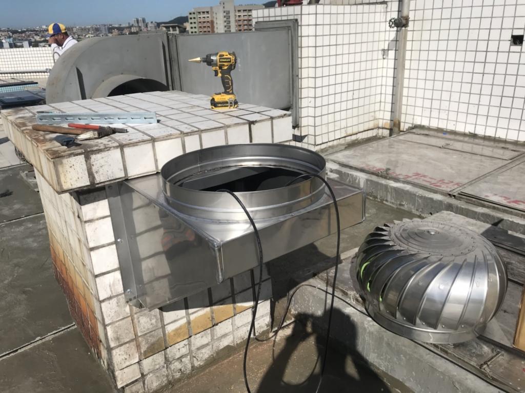 尊龍社區施工中照片