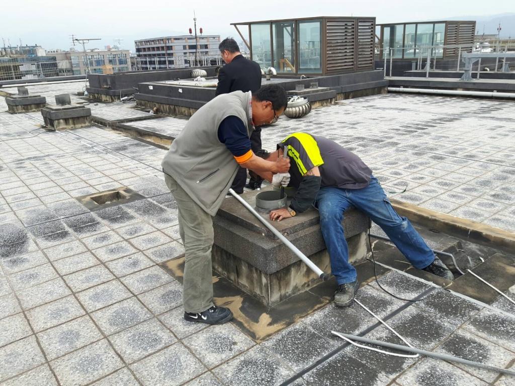 瓏山林社區施工中照片
