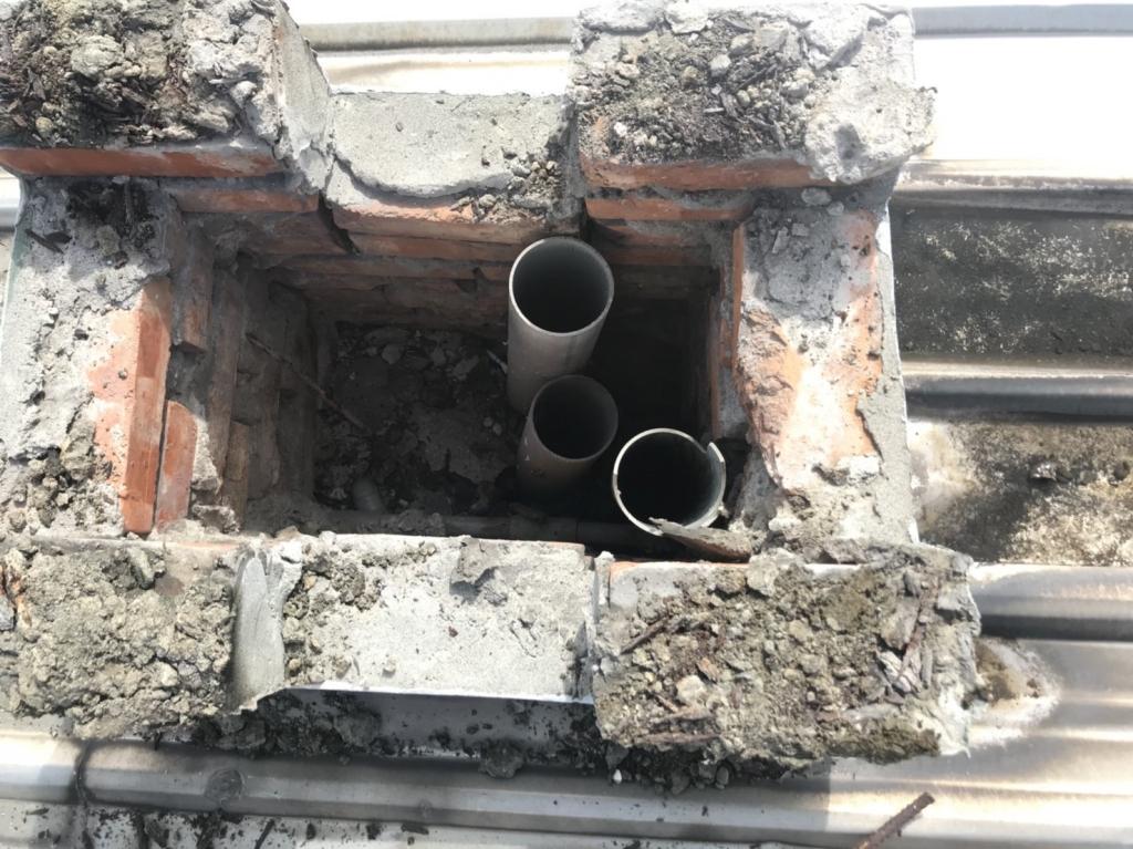 鴻福社區施工中照片