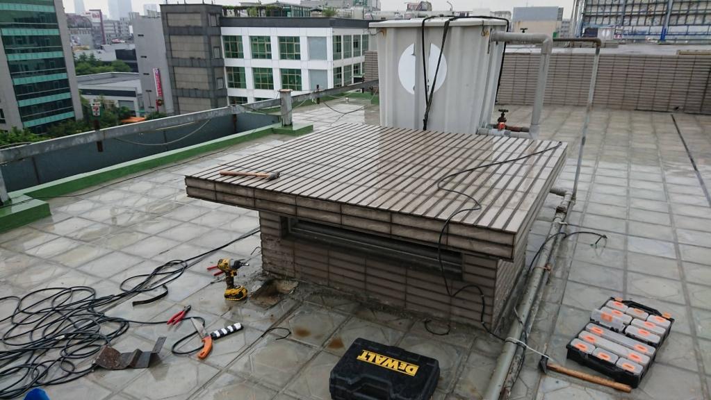 STAR TECH國際總部社區施工中照片