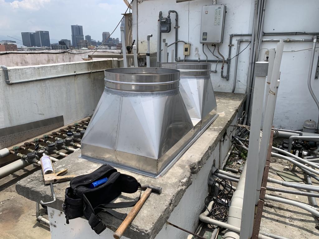 桂冠大廈施工中照片