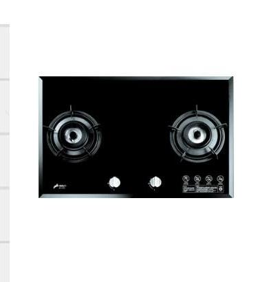 玻璃檯面爐系列 SB-2109 黑_白色玻璃面