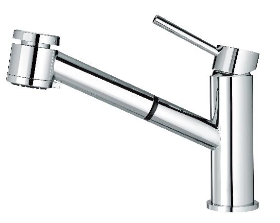 廚房立式伸縮龍頭(35L)兩段式出水  D-6090