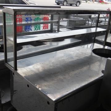 不銹鋼單孔攤車