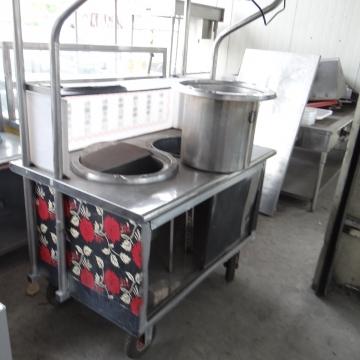 不銹鋼煮麵攤車(二)