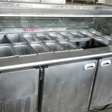 自助沙拉吧冰櫃