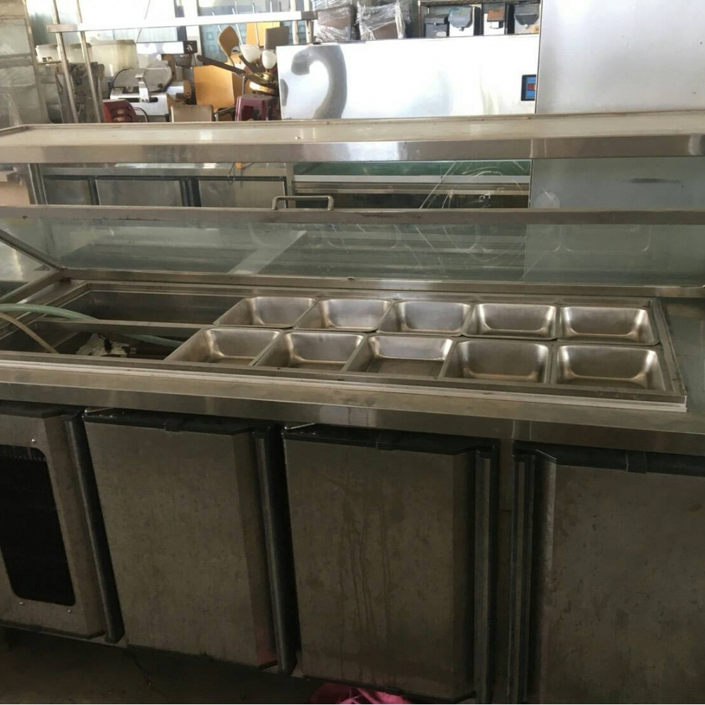 四尺冰品料理台  冰箱
