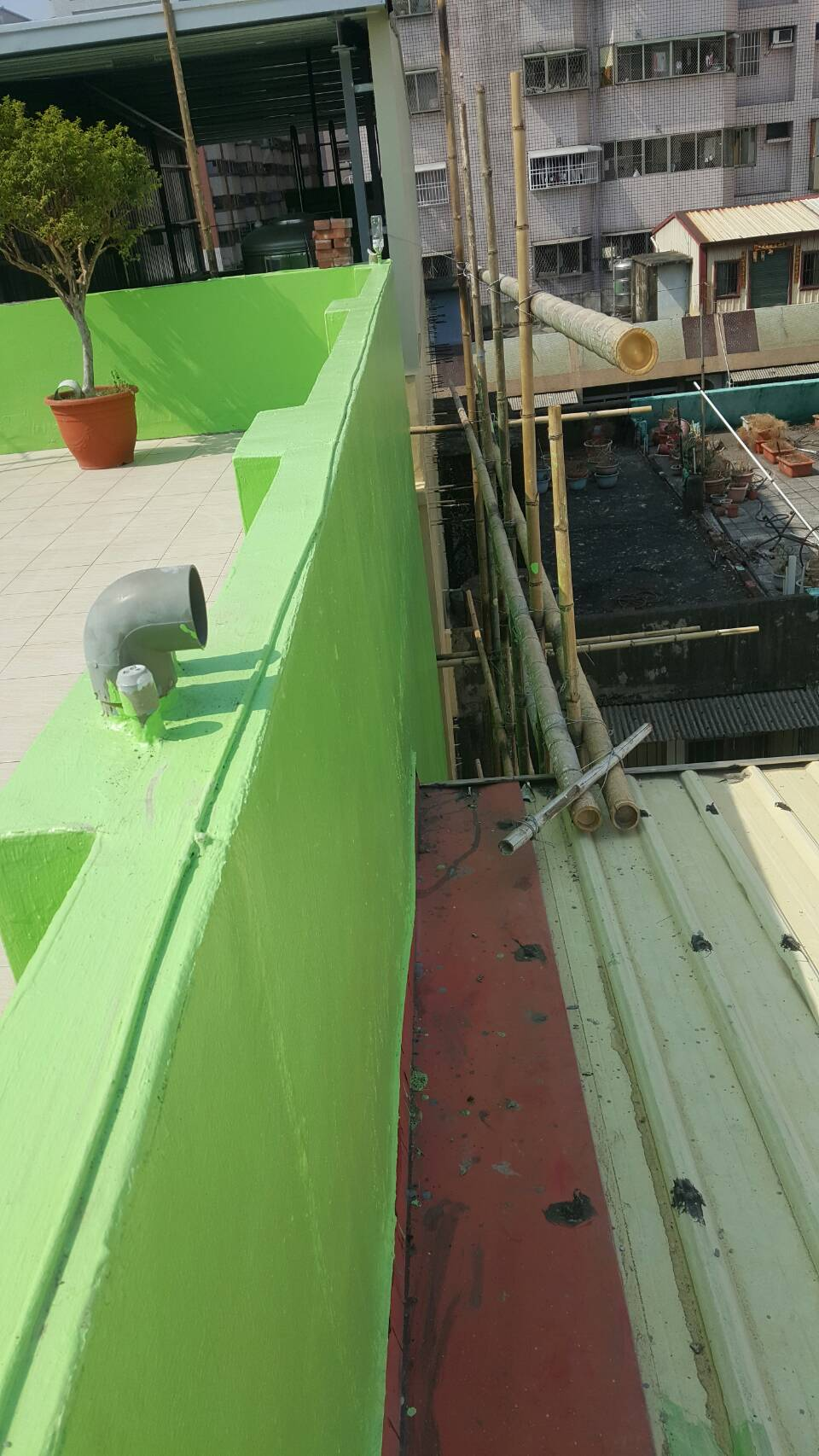 新樂街外牆室內整修防水工程