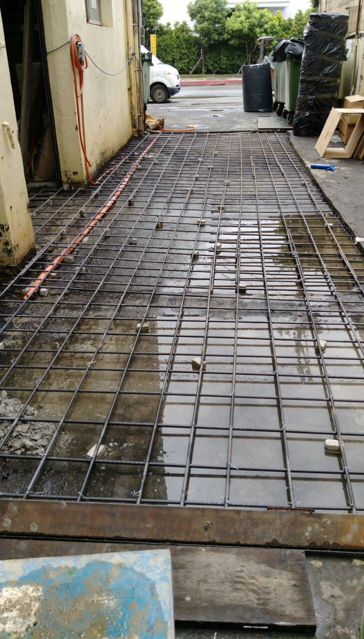 PPG倉庫地板整修