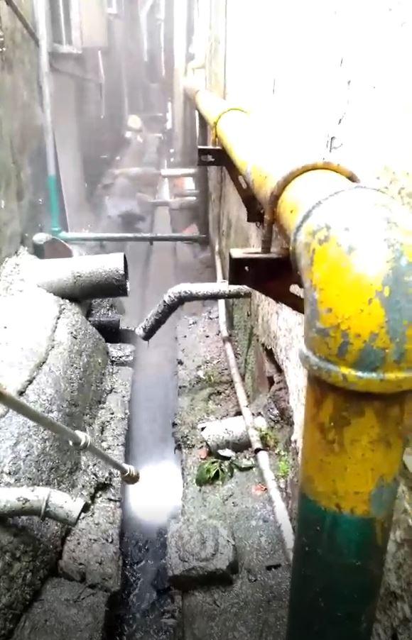 台中通水溝影片