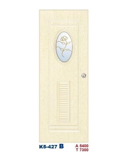 浴廁門-塑鋼門K5-427B
