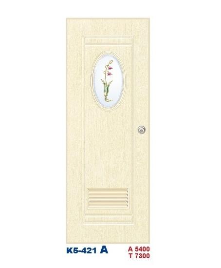 浴廁門-塑鋼門K5-421A