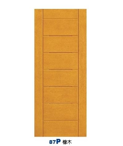橡木房間門 87P