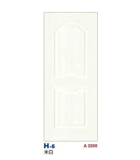 米白房間門 H-5