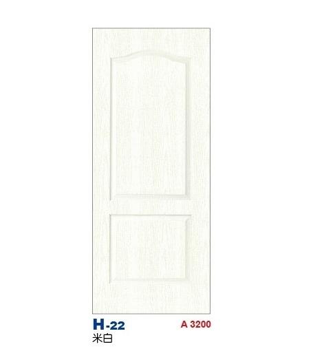 米白房間門 H-22
