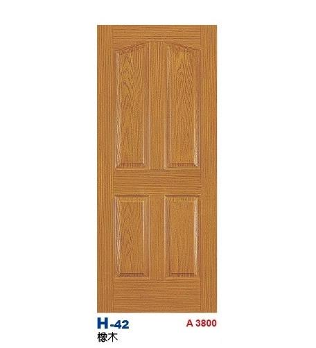 橡木房間門 H-42
