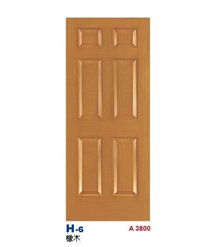橡木房間門 H-6