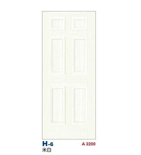 米白房間門 H-6