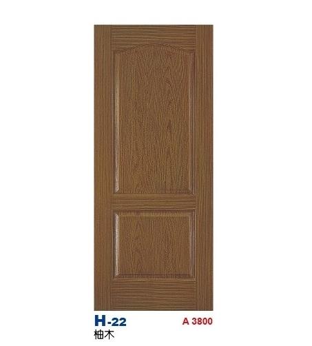 柚木房間門 H-22