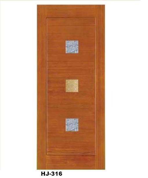 南洋檜木實木門(溝槽門)