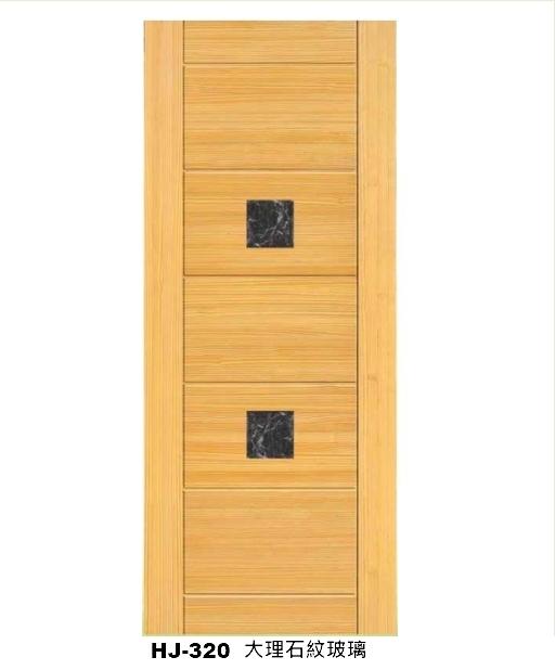 金松實木門(溝槽門)