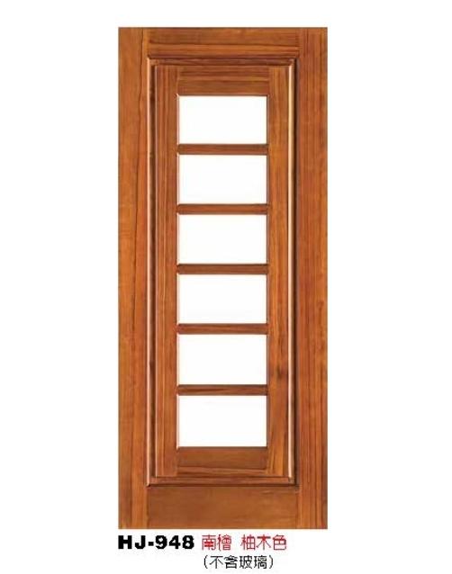 實木玻璃門