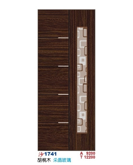 采晶玻璃房間門 沙1741