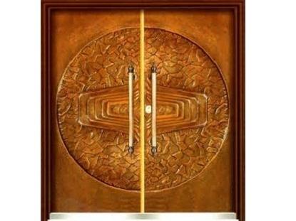 銅雕門-2