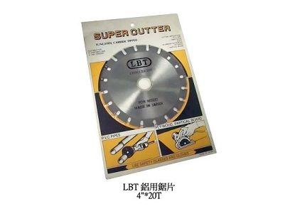 LBT鋁用鋸片4吋x