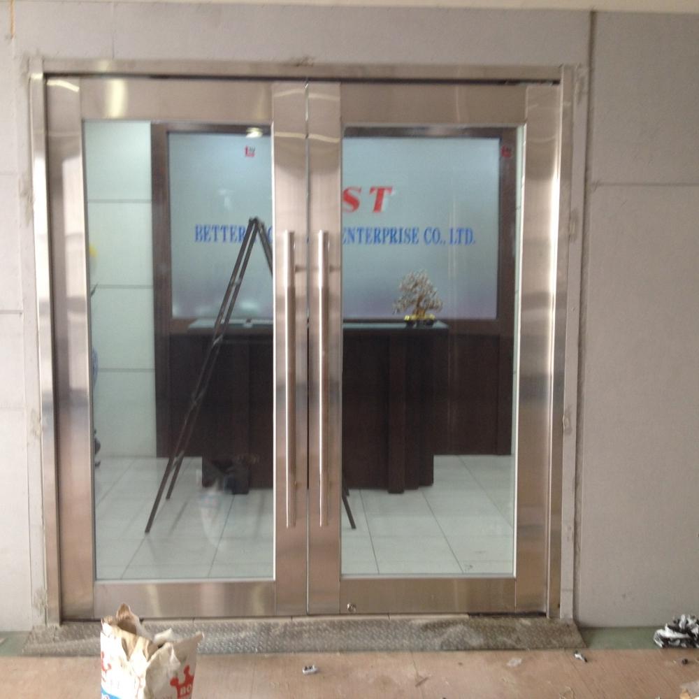 防火玻璃門安裝 實績