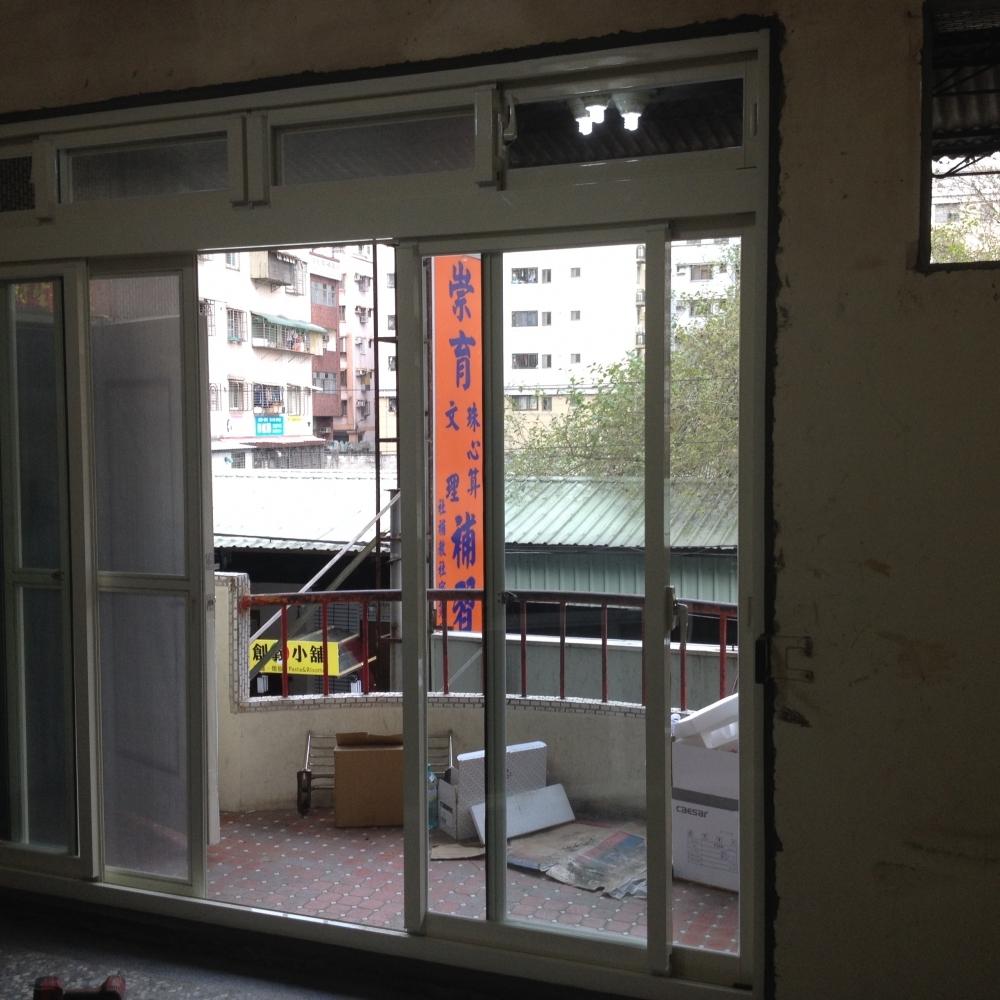 落地窗安裝施工 實績
