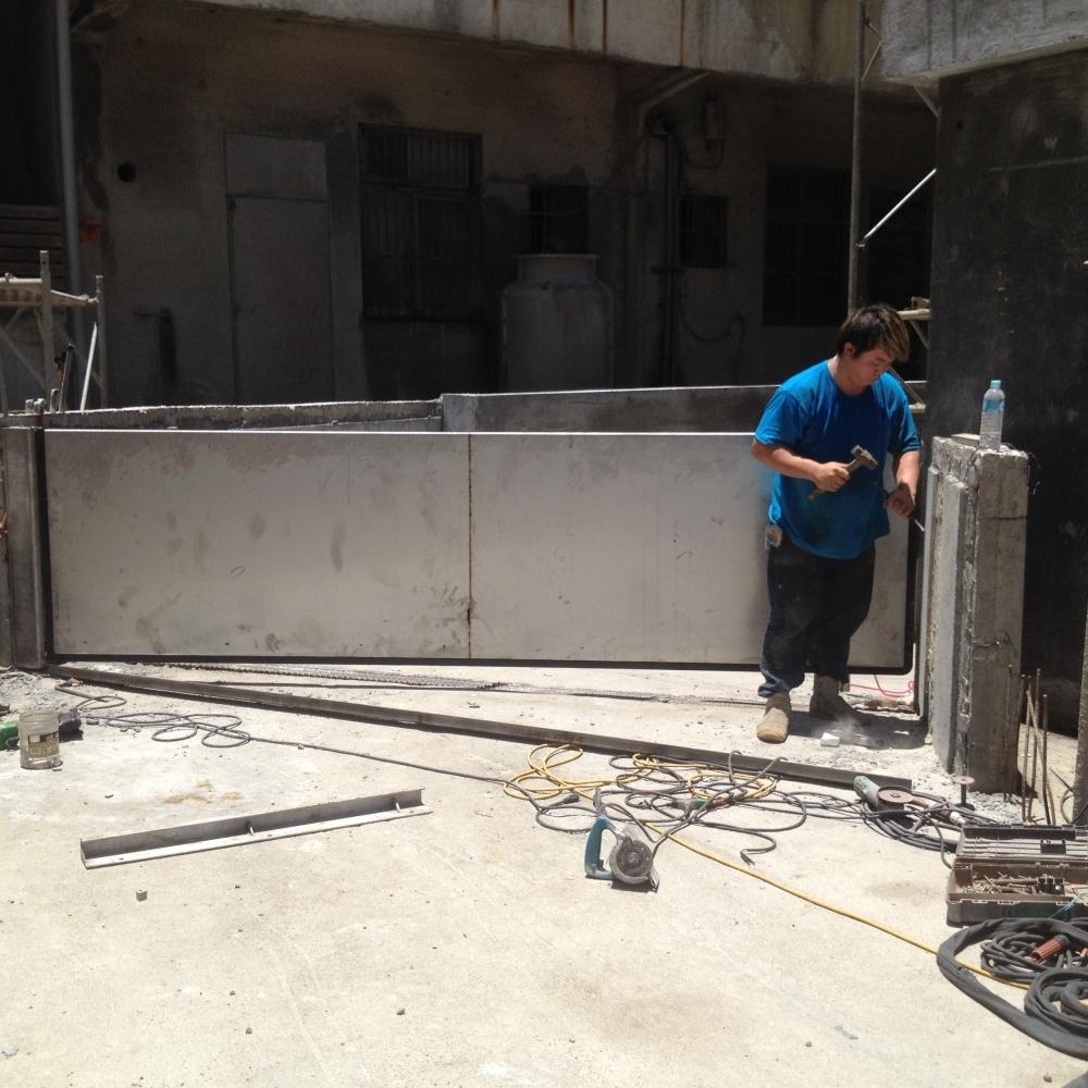 防水閘門安裝施工 實