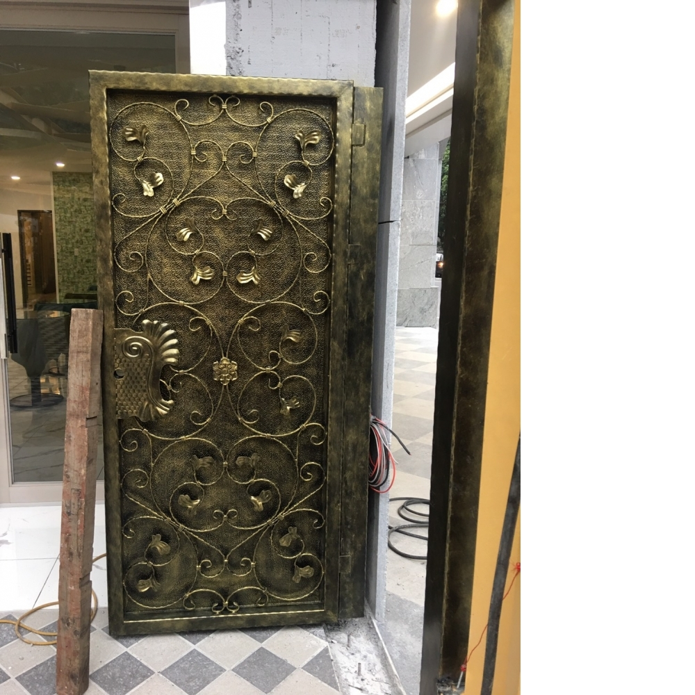 安裝硫化銅門