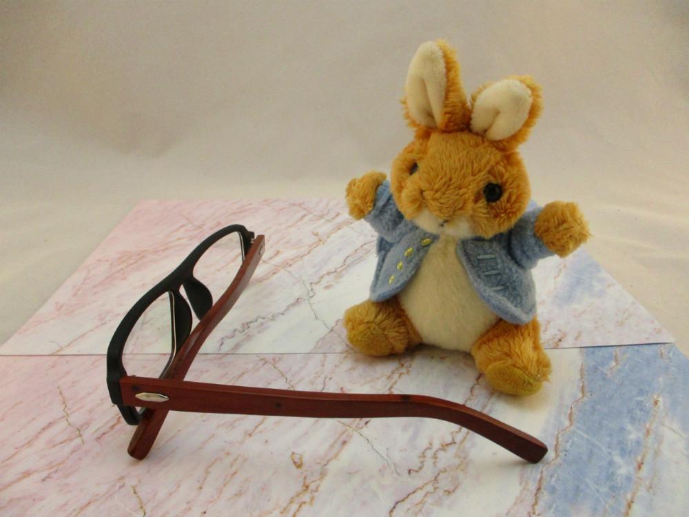 皮革眼鏡-8033