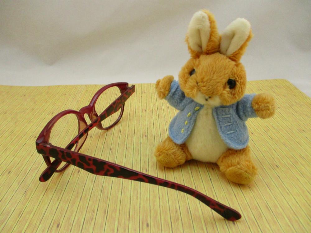 膠框平光眼鏡-9626